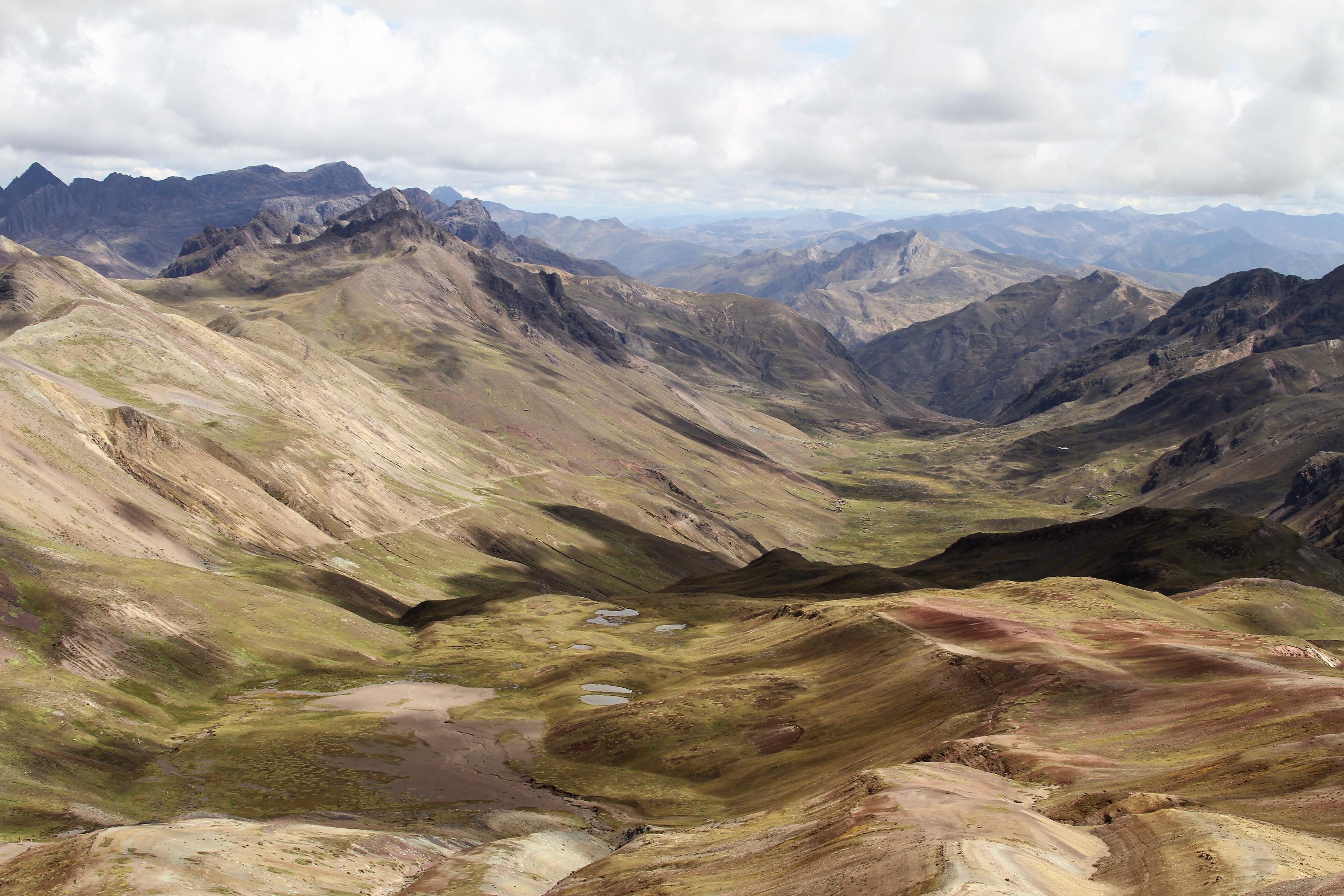 """Endless """"Rainbow"""" Mountains, Peru"""