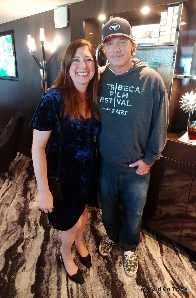 Lisa Niver and Wyland on Norwegian Bliss