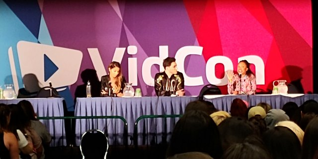 VidCon 2018 Creator Track Panel