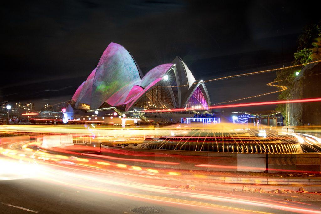 Where Vibrant Sydney Turns Electric: A Photo Essay