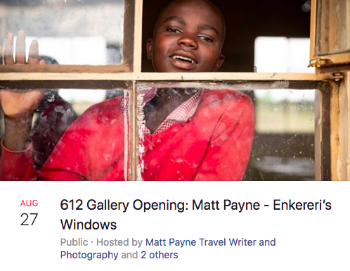 Matt payne art show