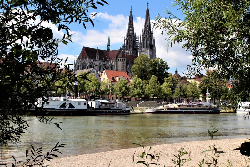 A Summer's Day in Historic Regensburg – Germany