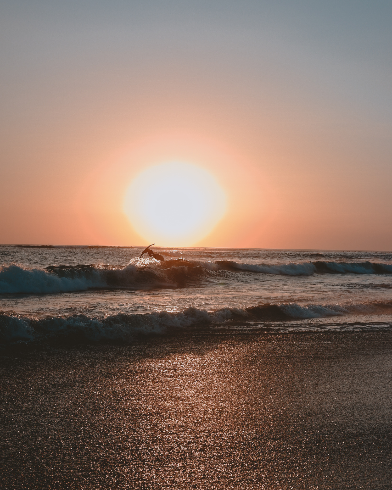 Surfing the Sun in Bali, Indonesia