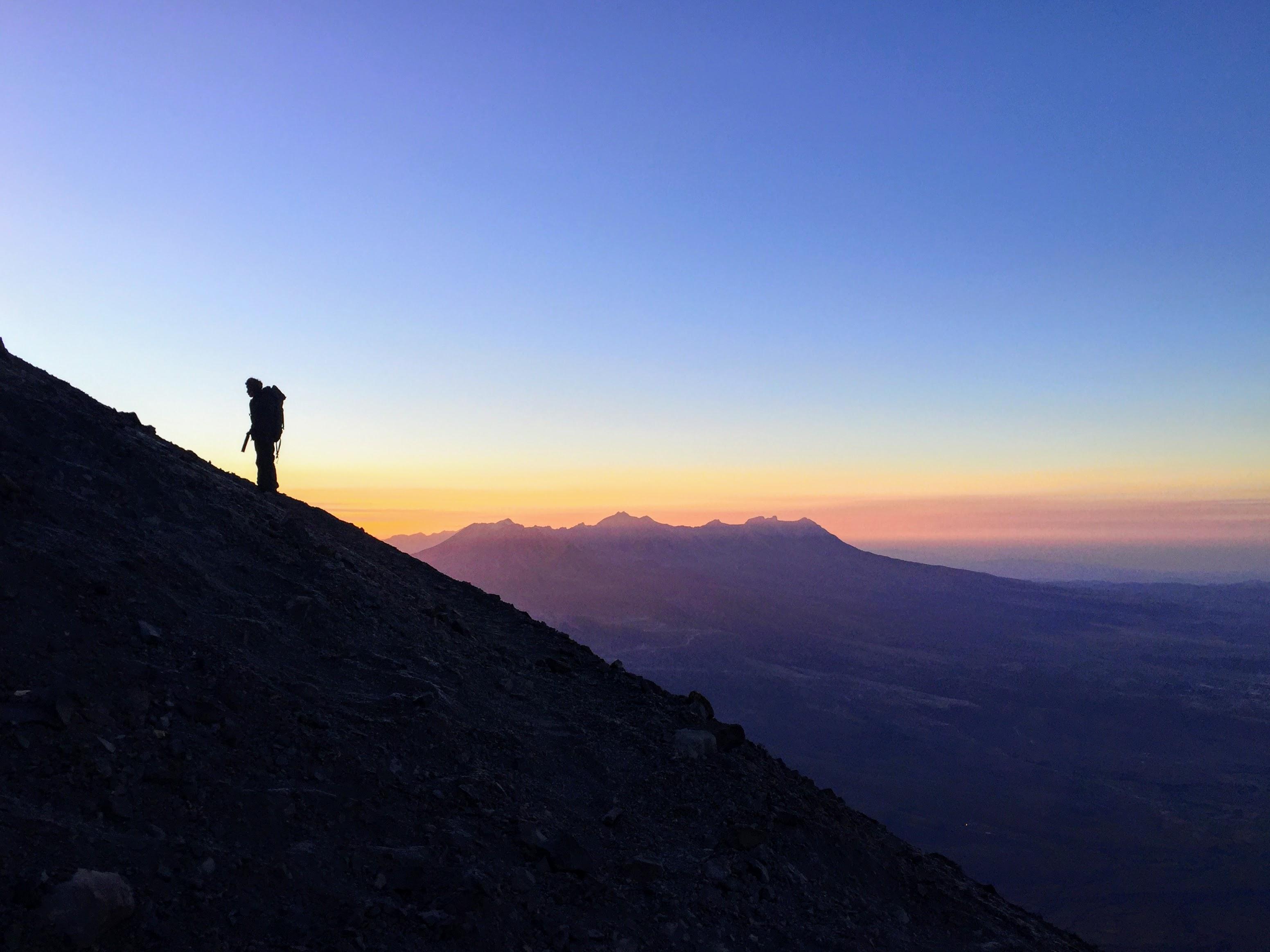 Sunrise at 17,000 ft. in Peru