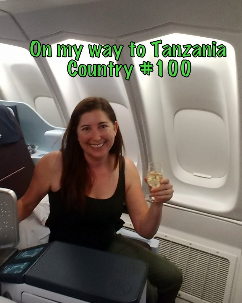 Lisa Niver on her way to Country #100