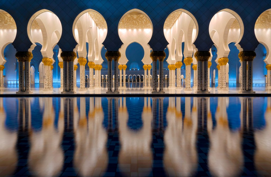 Grand Mosque by Piers van der Merwe