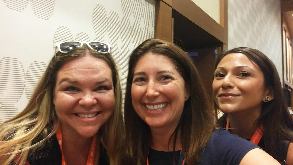 Erin Lisa and Alex at Blogher August 2016 in Los Angeles