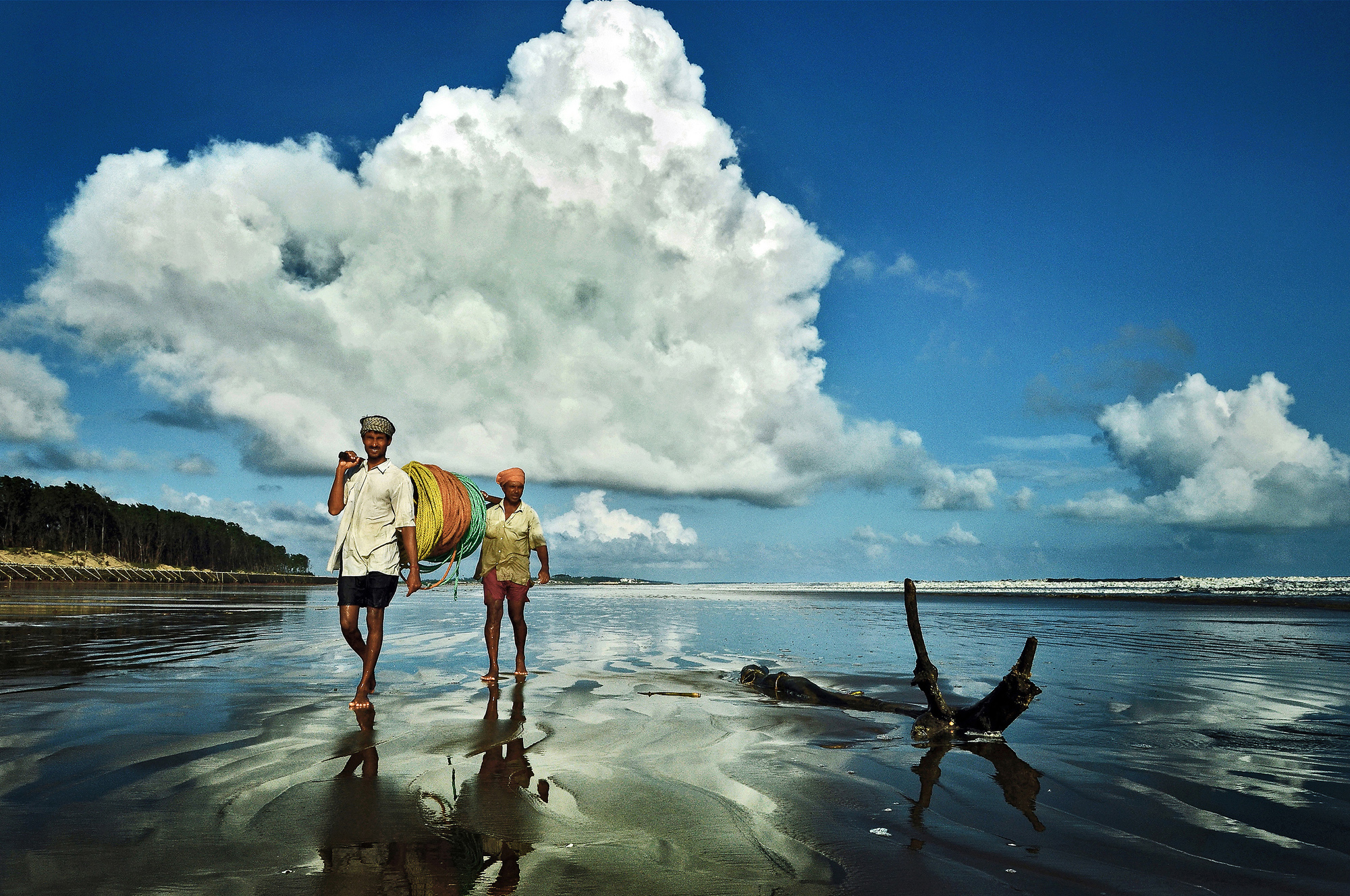 From Sea to Land, India