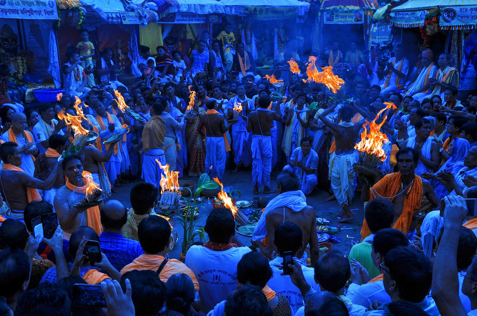 Tradiitional Religious Ratha Yatra Festival, Bangladesh
