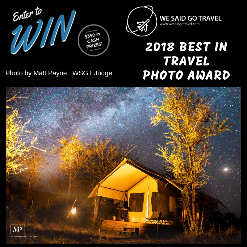 We Said Go Travel Photo Award 2018