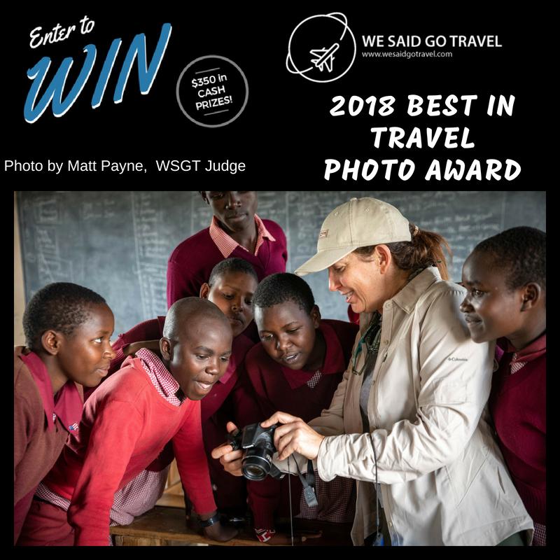 We Said Go Travel Photo Award 2018