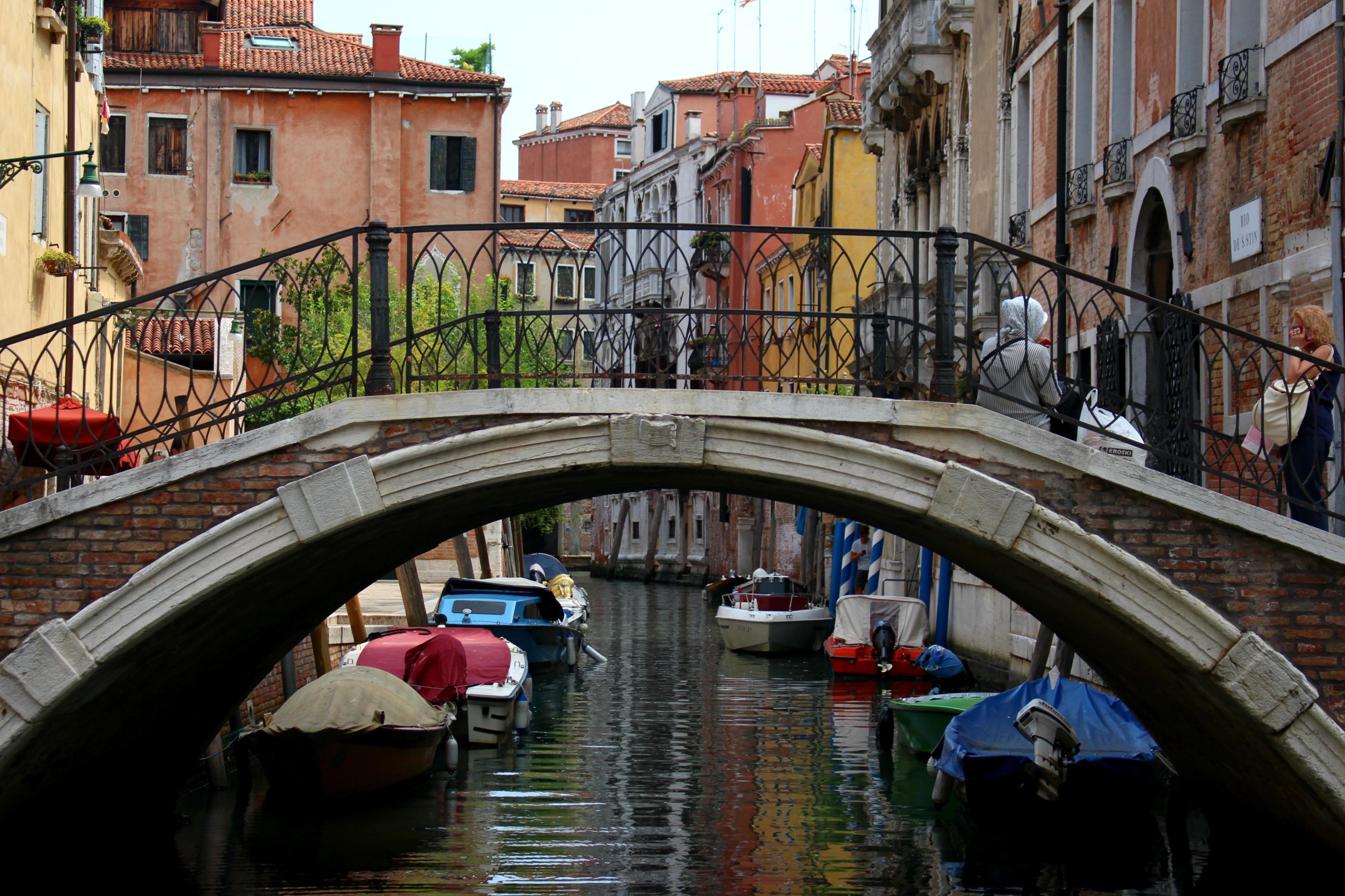 Poverty in Beauty. Venice, Italy