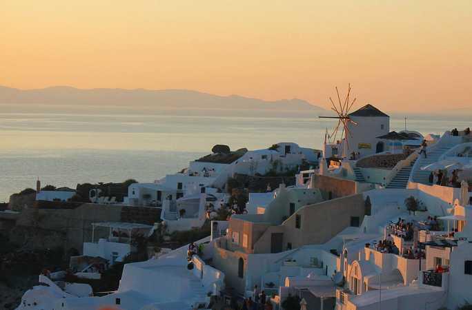 Santorini Sunset – Greece