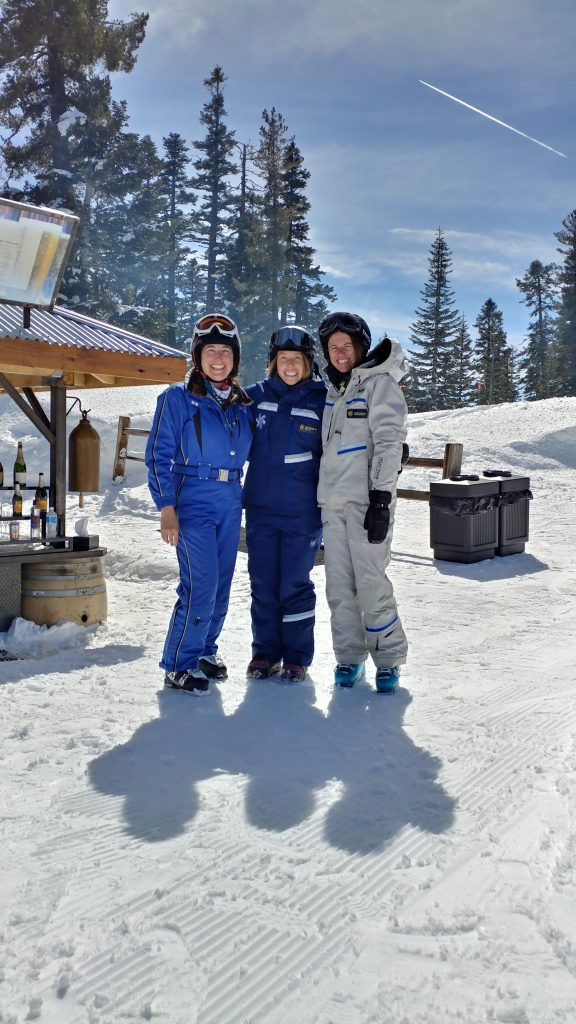 Skiing at Northstar California Resort with Marcie Bradley