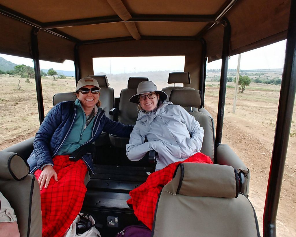 Lisa Niver and Kelly in Kenya #AKTravel