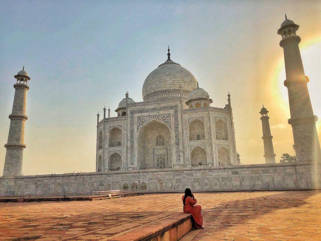 Sunrise on the Taj Mahal. Agra, India - We Said Go Travel