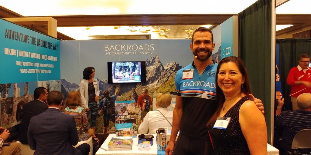 Lisa Niver at Backroads Virtuoso Travel Week 2018