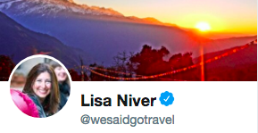 We Said Go Travel Verified on Twitter