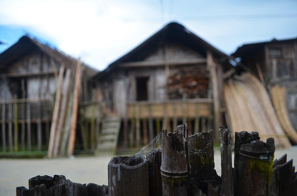 The dwellings of Arunachal Pradesh, India