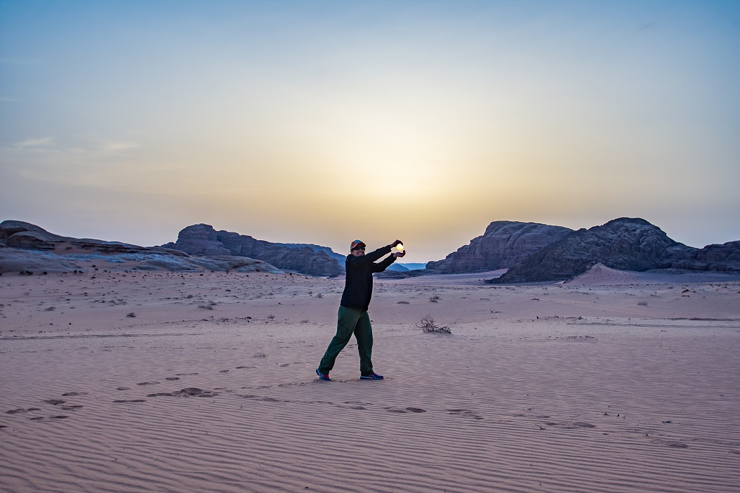 Holding the Sun in Jordan