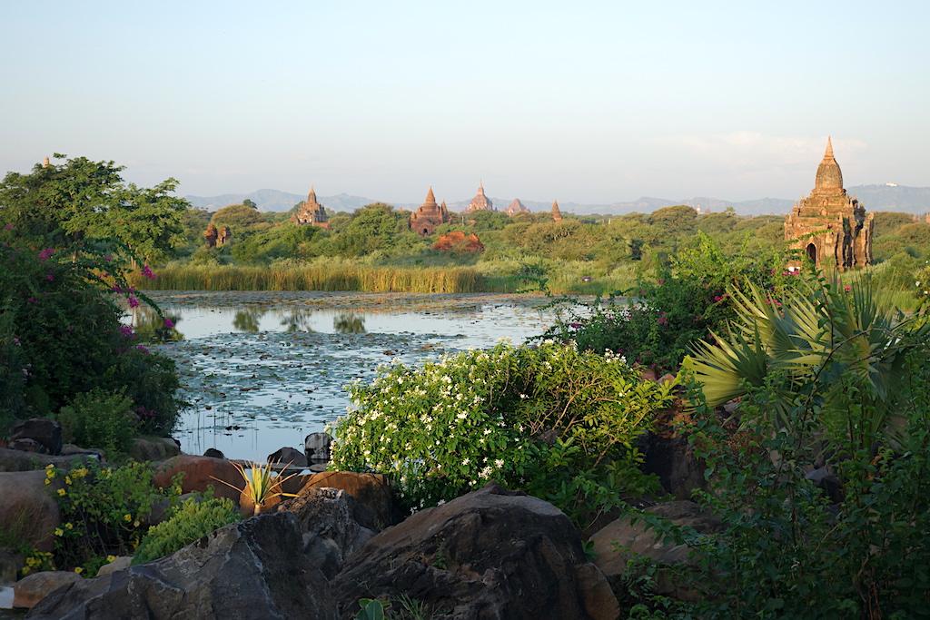 Aureum Palace back view, Bagan, Myanmar