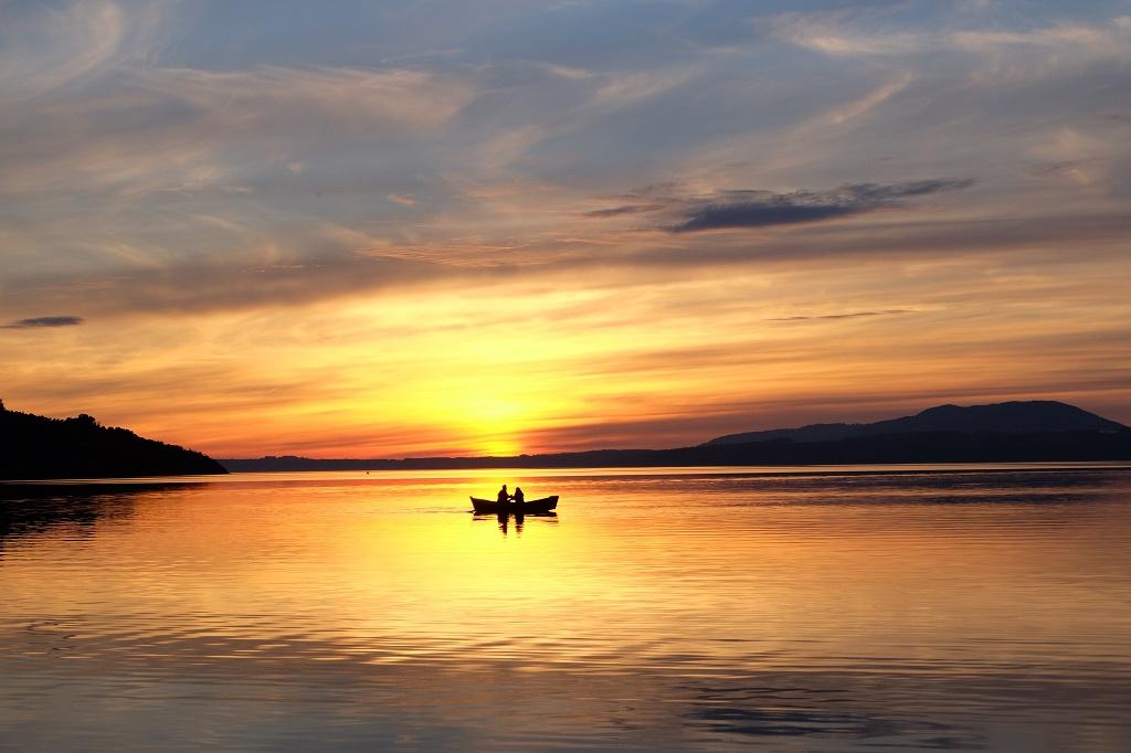 Best Chilean sunset was found by chance