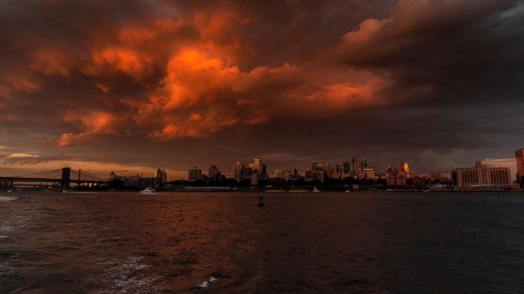 Dramatic NYC Waters – United States