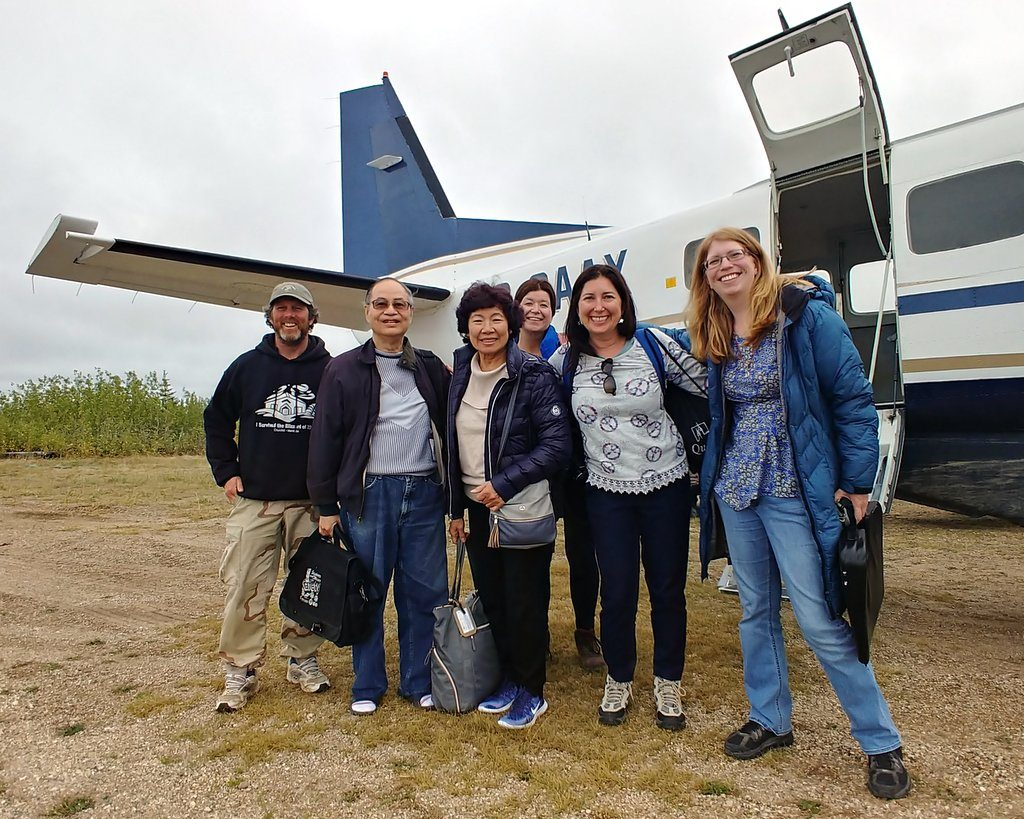 Fly to Nanuk Polar Bear Lodge