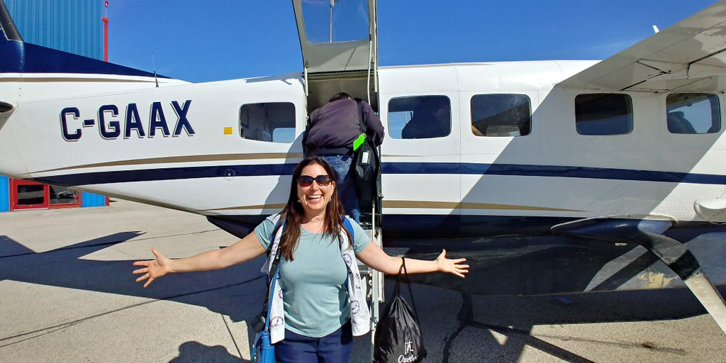 Lisa Niver flying to Nanuk Polar Bear Lodge