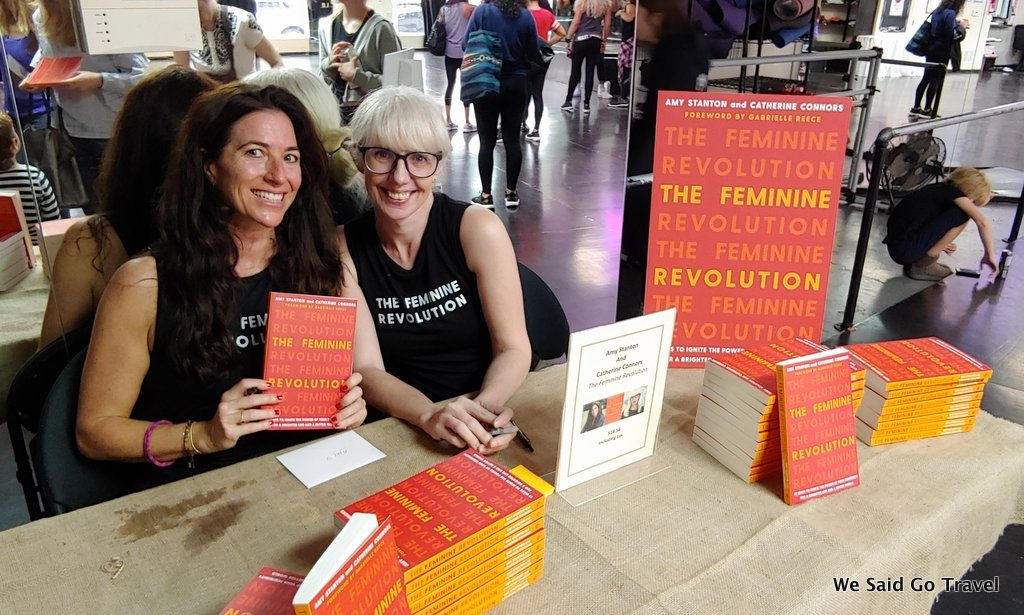 Catherine Connors and Amy Stanton, The Feminine Revolution Dance Book Launch