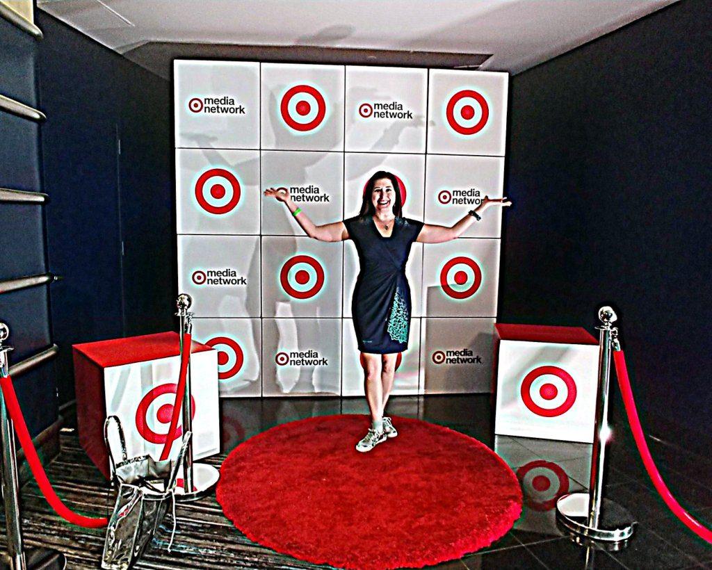 Lisa Niver at Adweek NYC 2018 Target