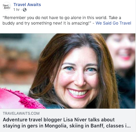 Lisa Niver Travel Awaits Interview