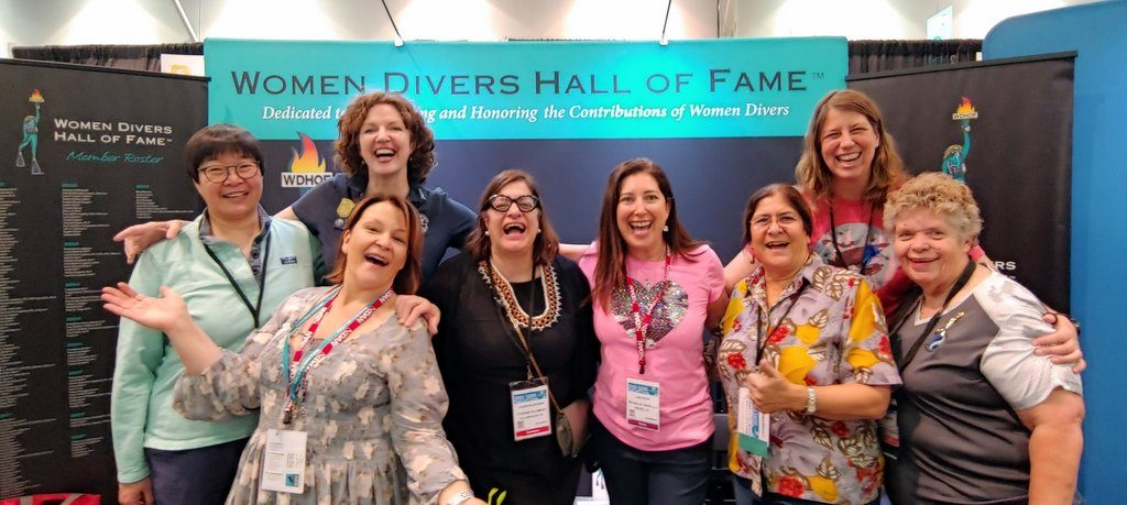Women Diver's Hall of Fame DEMA 2018