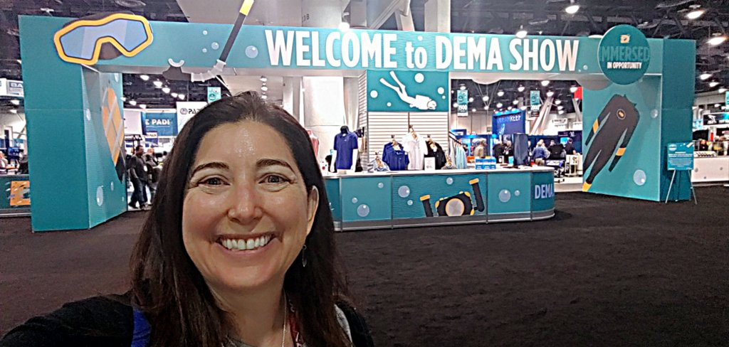 Lisa Niver at DEMA 2018