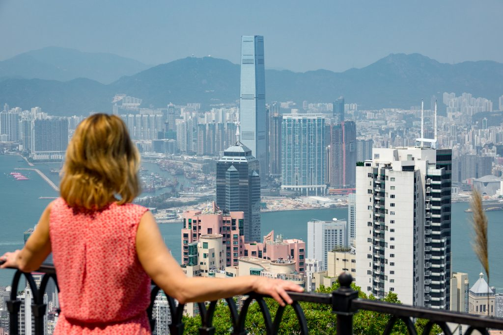 Samantha Brown in Hong Kong