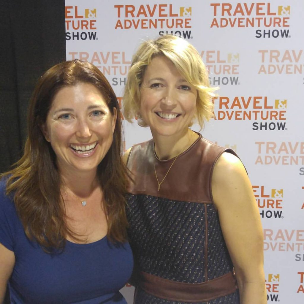 Lisa Niver and Samantha Brown