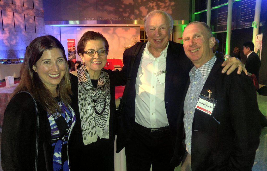 Lisa Niver, Patricia Schultz, Richard Bangs and Andy Bender at JNTO event March 2016