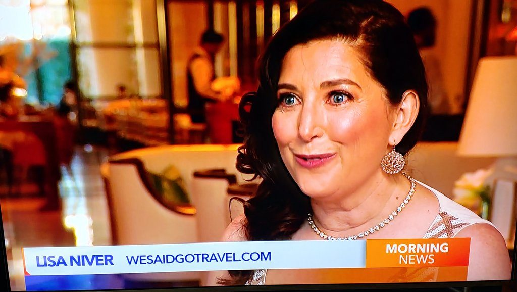 Lisa Niver on KTLA talking travel