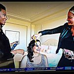 Lisa Niver getting glamorous with Glamsquad