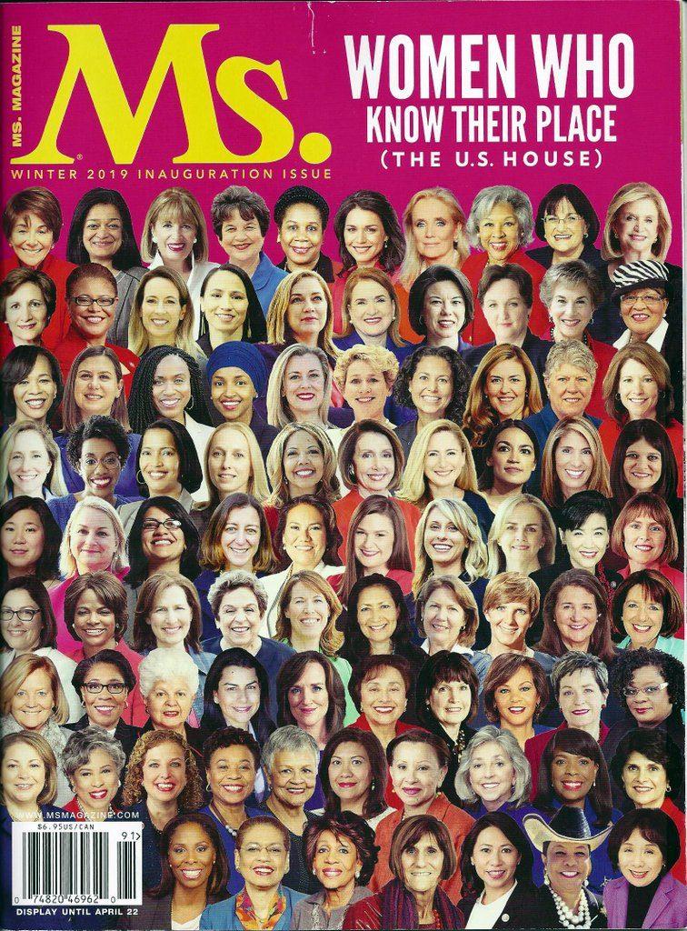 Lisa Niver in Ms. Magazine Jan 2019