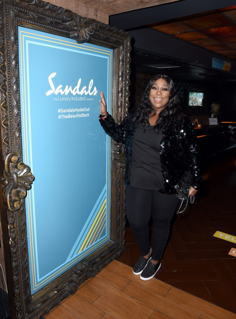Loni Love Sandals Resorts Hosts Private Event in the Hyde Lounge inside Staples Center at the Elton John Farewell Concert