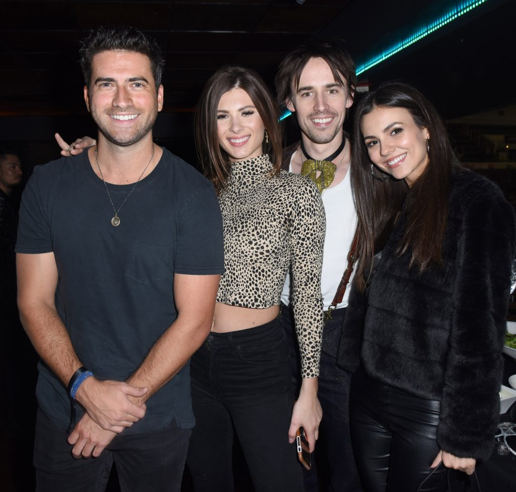 Shelby Bay Ryan Rottman Sandals Resorts Hosts Private Event in the Hyde Lounge inside Staples Center at the Elton John Farewell Concert