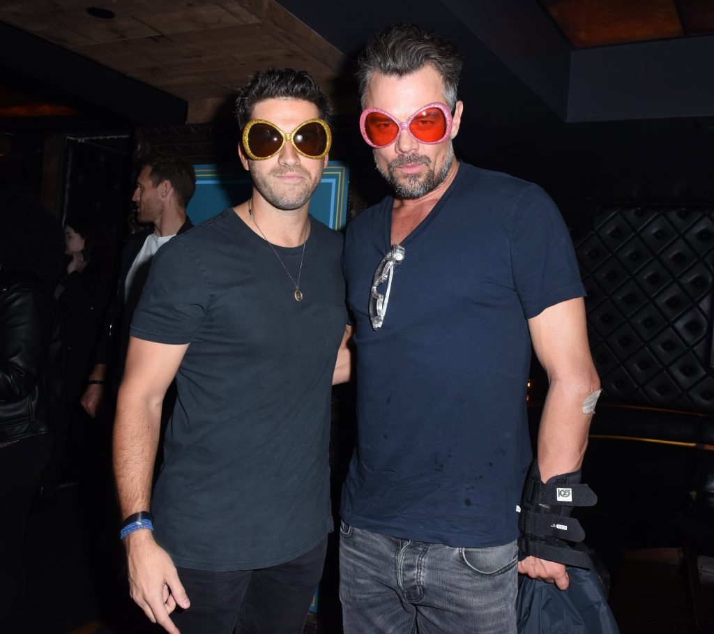 Ryan Rottman Josh Duhamel Sandals Resorts Hosts Private Event in the Hyde Lounge inside Staples Center at the Elton John Farewell Concert