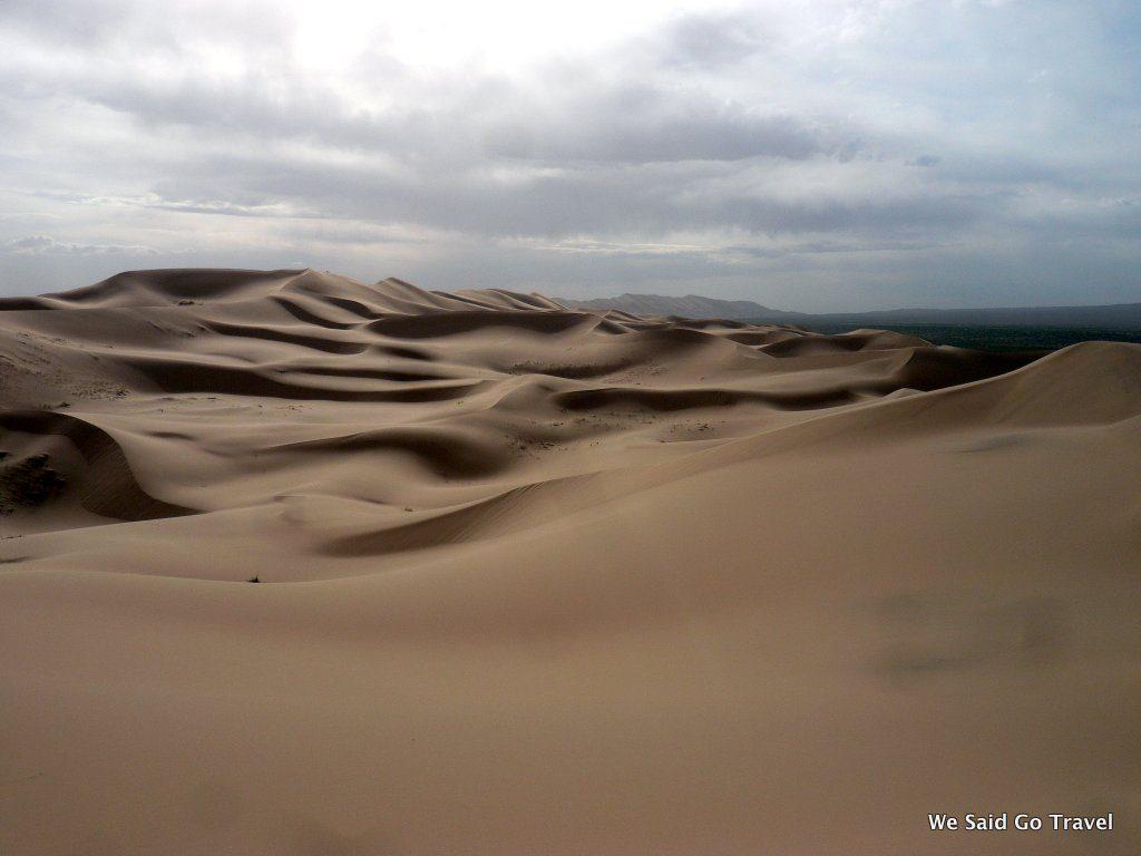 Gobi Desert Dunes by Lisa Niver