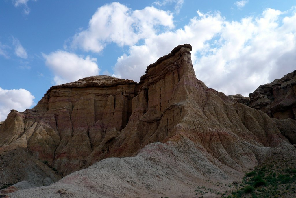 Bayanzag, the Flaming Cliffs in Mongolia by Lisa Niver