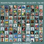 Lisa Niver is #5 on the Top 1000 Travel Blog List