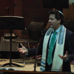 Rabbi Yoshi at Stephen Wise Temple