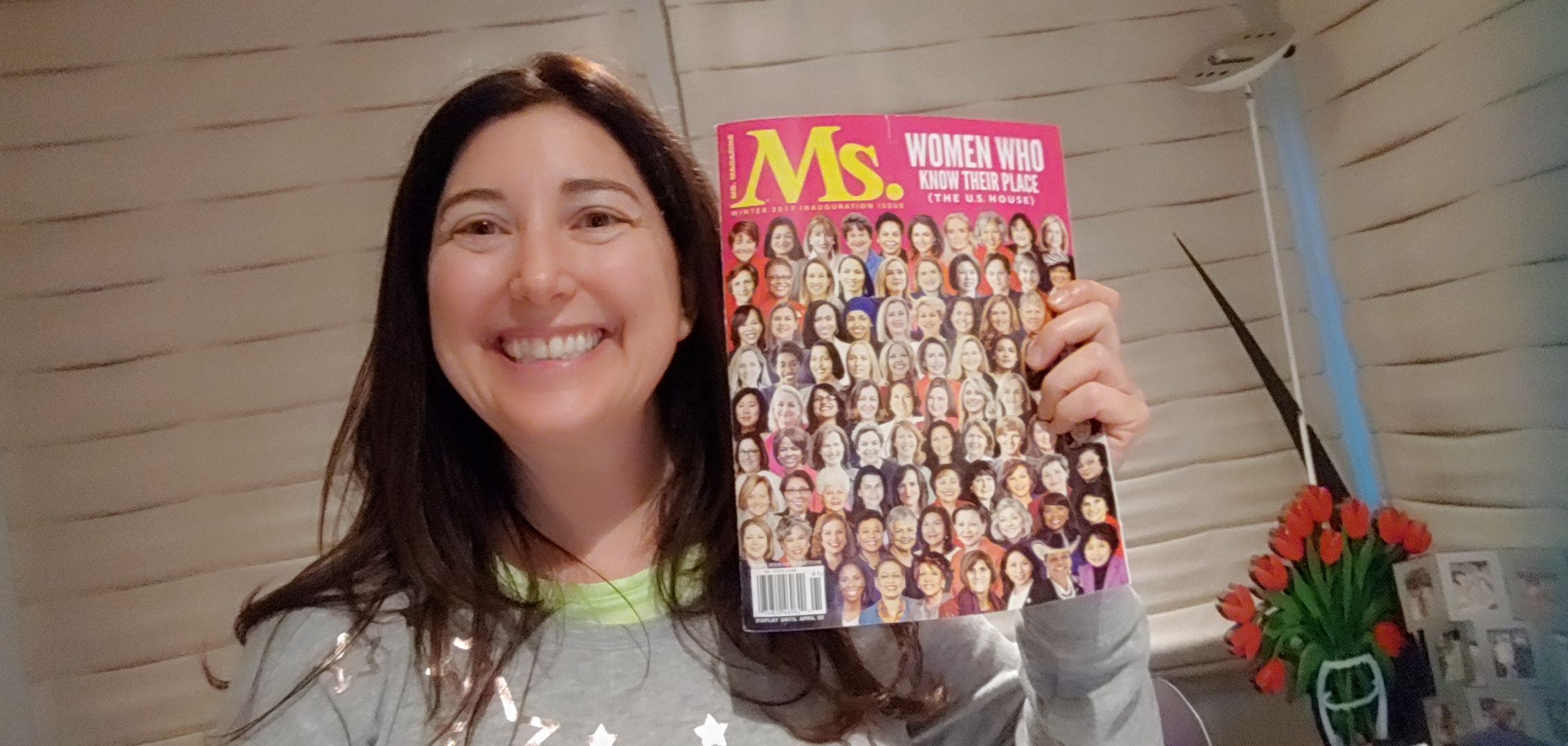 Lisa Niver IN PRINT with Ms. Magazine January 2019