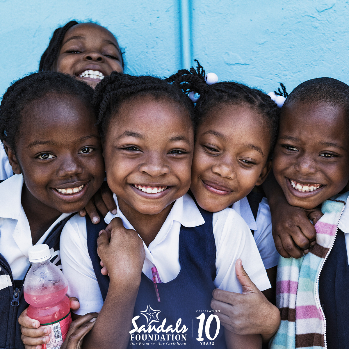 Happy 10th Anniversary Sandals Foundation