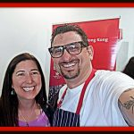Lisa Niver and Chef Chris Coentino
